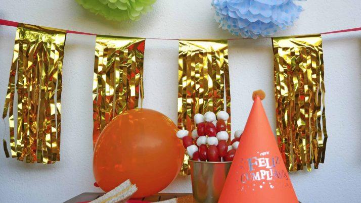 Cómo organizar una merienda de cumpleaños